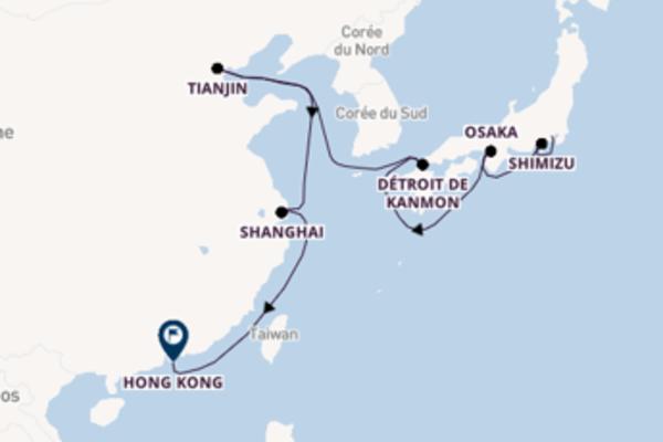 Croisière de 13 jours vers Hong Kong avec Norwegian Cruise Line