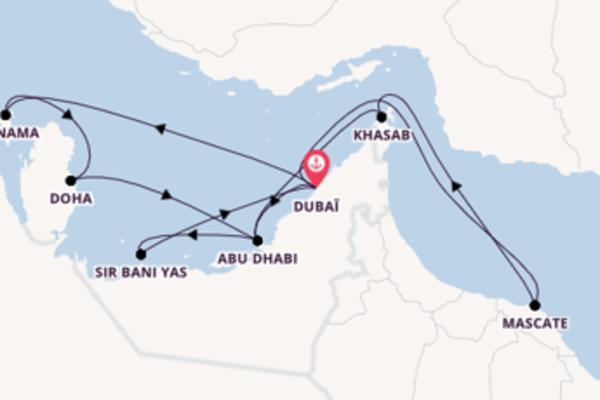 15 jours pour découvrir Doha au départ de Dubaï