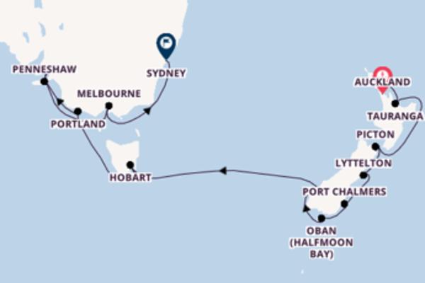 Geniet van het aantrekkelijke Portland, Australië met Hapag-Lloyd Cruises