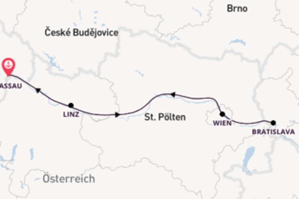 5 Tage Donau Kreuzfahrt
