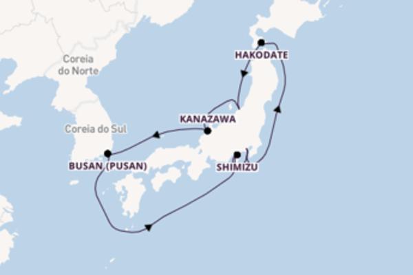 Navegando por 9 dias a bordo do MSC Bellissima