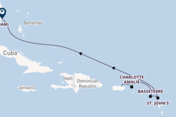 Sailing to Miami from San Juan