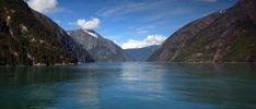 Alaskas Gletscher und Berge