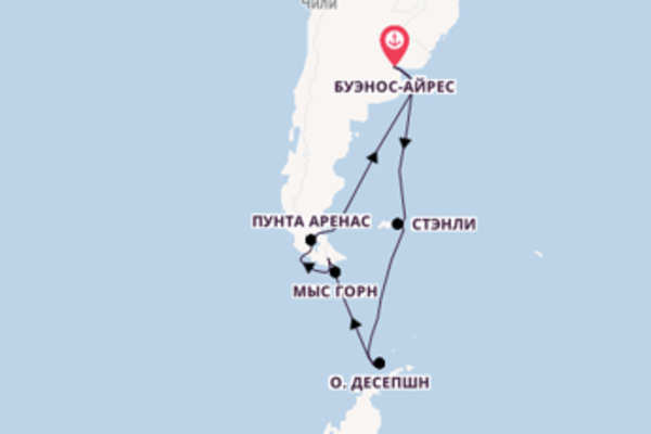 Живописный вояж на 15 дней с Norwegian Cruise Line