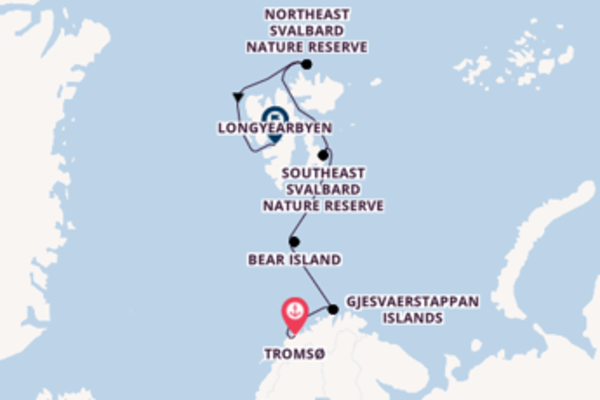 Journey from Tromsø with the Silver Wind