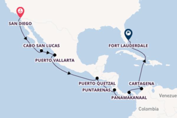Cruise met Celebrity Cruises naar het magnifieke Fort Lauderdale