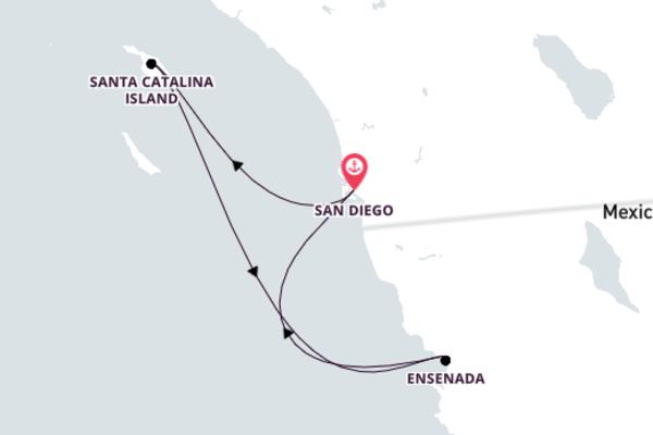 5-Day Majestic Sail to Ensenada, Isla Partida