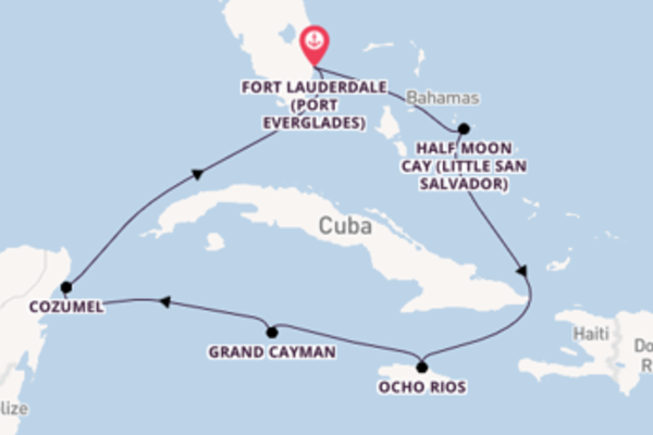 8 day journey from Fort Lauderdale