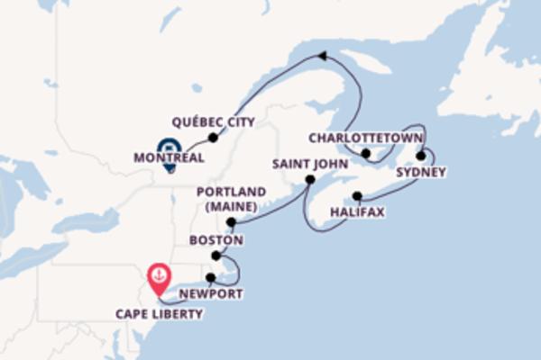 Favoloso viaggio di 12 giorni a bordo di Empress of the Seas