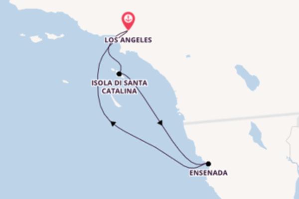 Viaggio da Los Angeles verso Isola di Santa Catalina