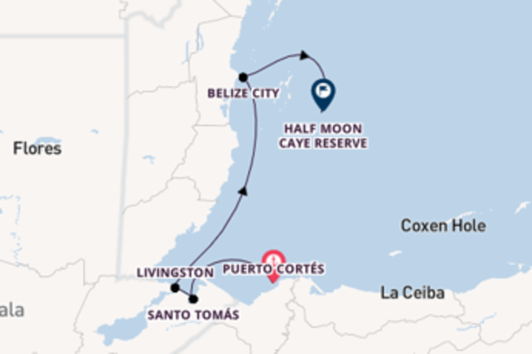 Journey with Ponant from Puerto Morelos