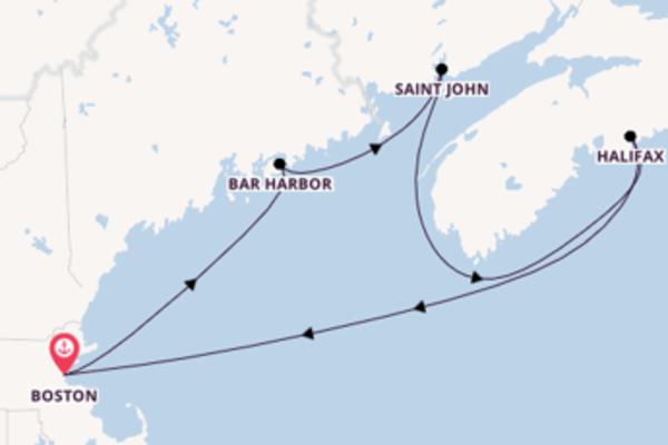 Estasiante viaggio di 7 giorni verso Boston