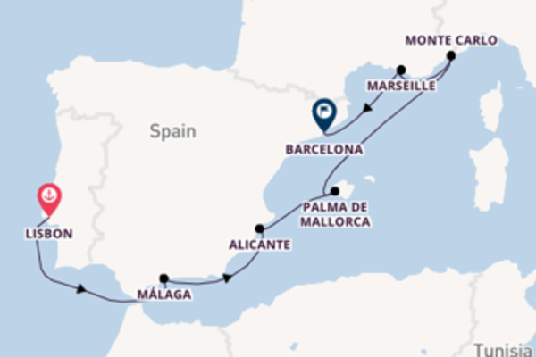 Cruising with Oceania Cruises from Lisbon to Barcelona