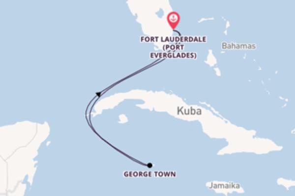 5 Tage Karibik Reise