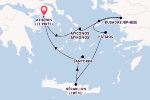 Douce balade méditerranéenne au départ de Le Pirée
