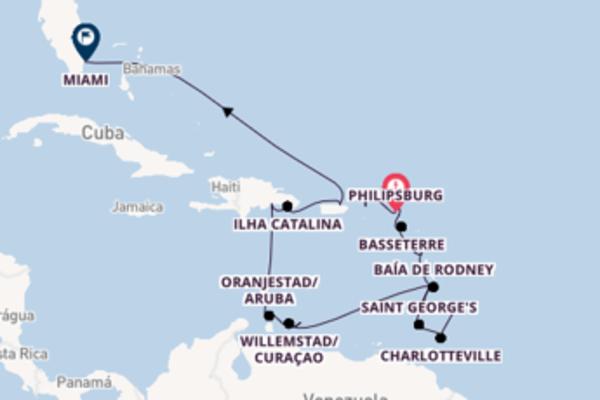 22 dias navegando a bordo do Seabourn Odyssey