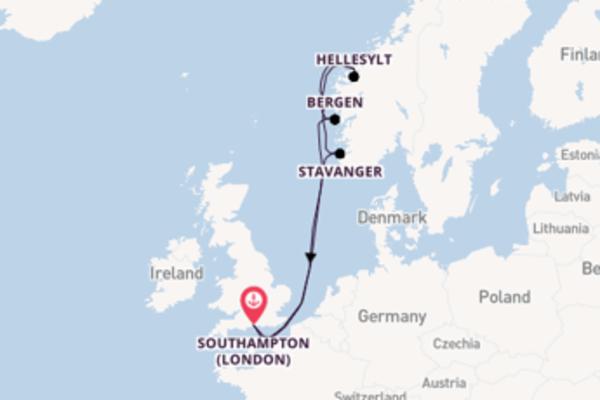 8 day trip from Southampton (London)