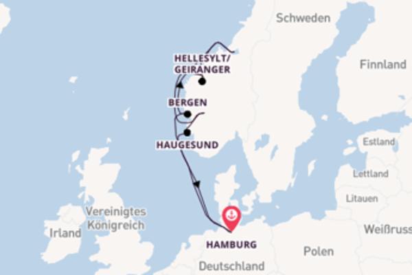 In 11 Tagen nach Hamburg über Molde