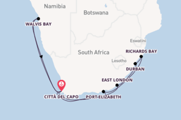 Crociera di 16 giorni a bordo di Azamara Journey