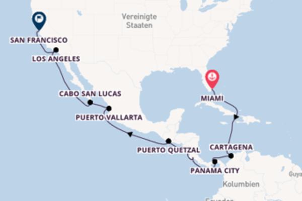 Highlight Panamakanal – Exklusiv begleitet durch Dreamlines