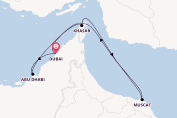 Erleben Sie 8 Tage Dubai und Dubai