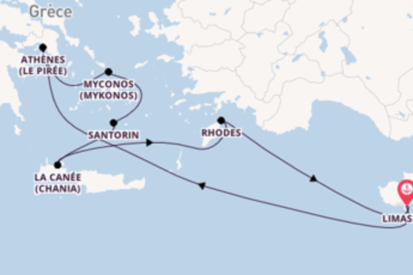 Croisière de 8 jours vers Limassol avec Royal Caribbean