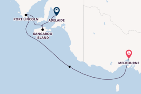 5 day sail from Melbourne
