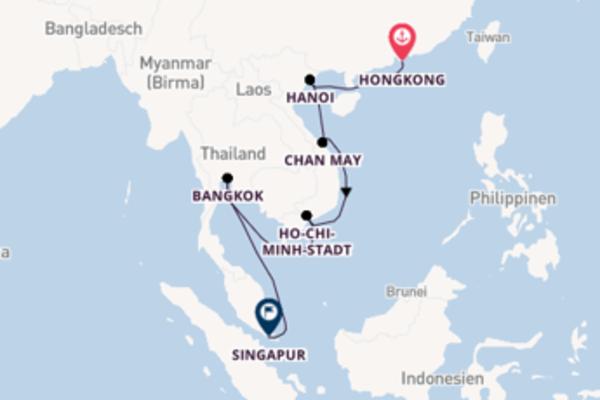 Faszinierende Reise nach Singapur