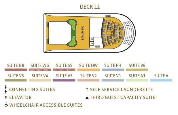 Seabourn Sojourn Deck 11