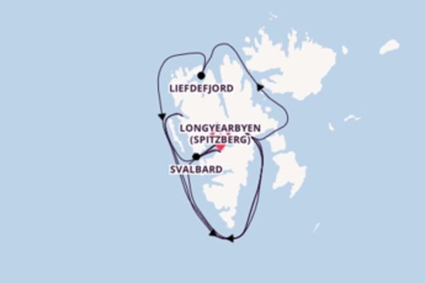 Sublime balade de 8 jours pour découvrir Svalbard