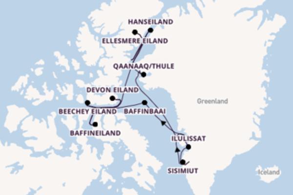 Beleef de parels van Hanseiland, Groenland