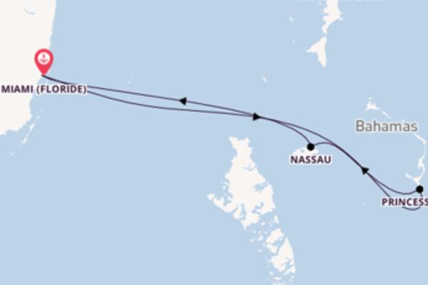 Princess Cays depuis Miami (Floride) pour une croisière de 5 jours