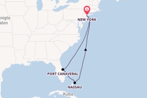 Entdecken Sie 9 Tage Nassau und New York