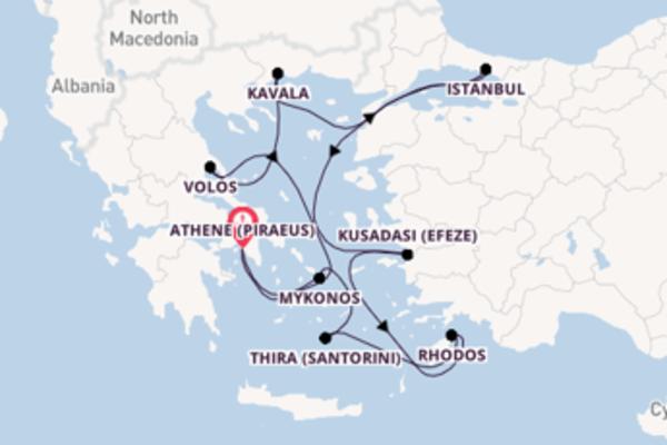 Cruise met Oceania Cruises naar het aantrekkelijke Athene