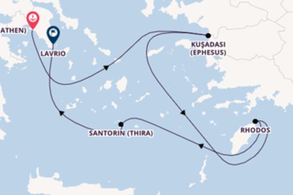 Beeindruckende Reise über Rhodos in 5 Tagen