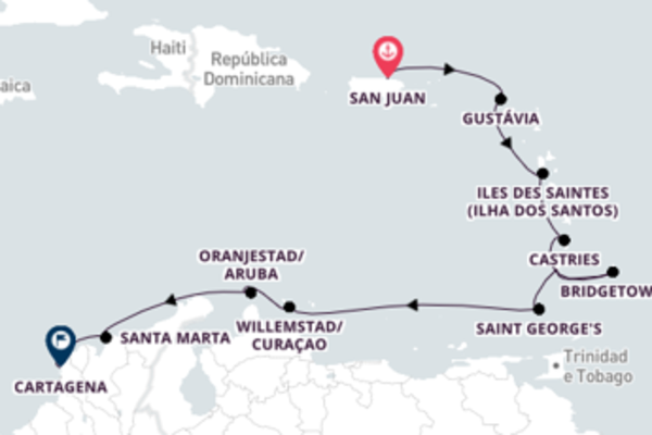 Empolgante cruzeiro de 13 dias a bordo do Seven Seas Navigator