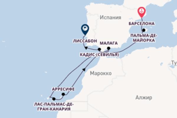 Потрясающее путешествие с Celebrity Cruises