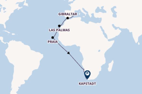 Erleben Sie Lüderitz auf der AIDAmira