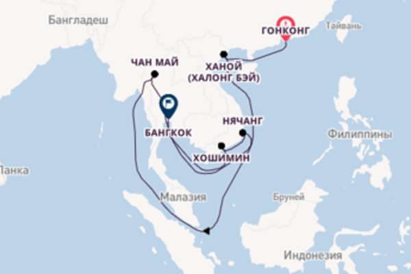 Красочное путешествие на 13 дней с Oceania Cruises