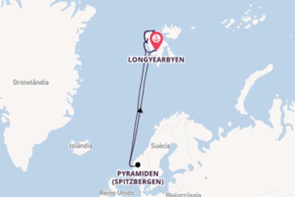 Navegando no Le Boréal por 8 dias