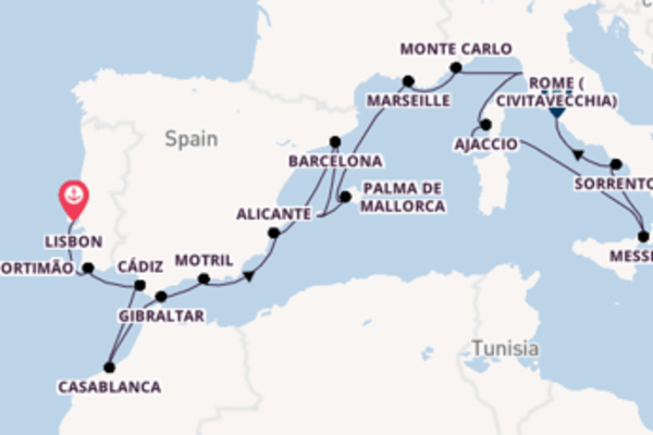 Cruising from Lisbon with the Seven Seas Voyager