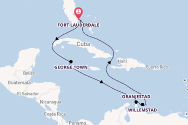 Cruise in 10 dagen naar Fort Lauderdale met Celebrity Cruises