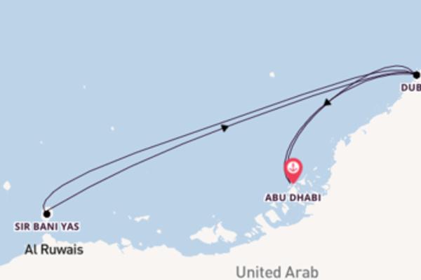 Geniet van het sfeervolle Dubai met MSC Cruises
