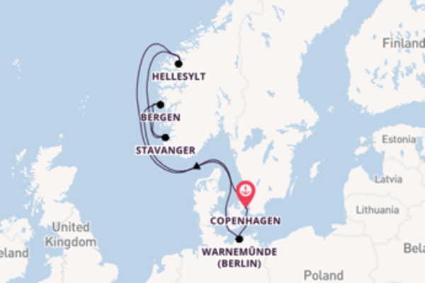Glorious trip from Copenhagen with MSC Cruises