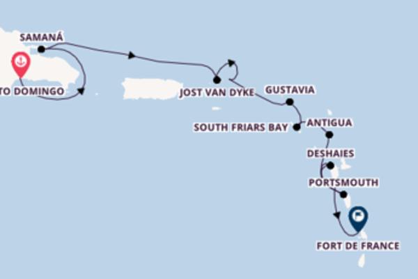 Traumhafte Reise nach Fort de France