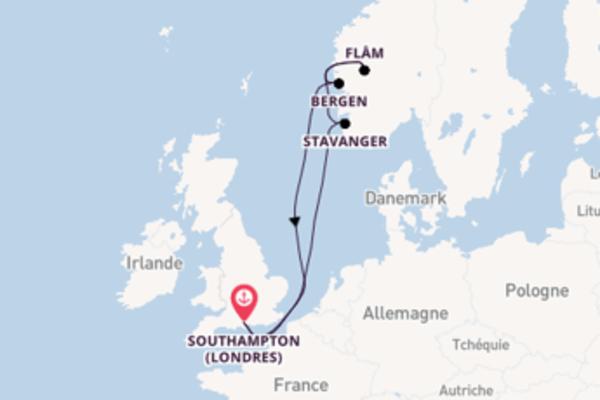 Fantastique balade de 8 jours au départ de Southampton (Londres)
