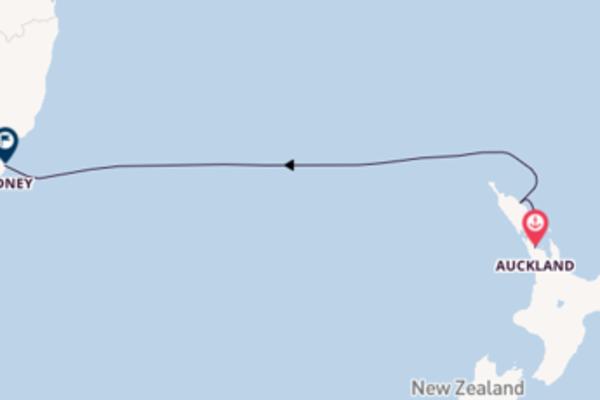 Attraversa il Mar di Tasmania in 5 giorni