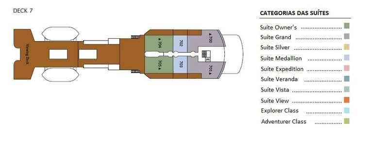 Silver Explorer Deck 7