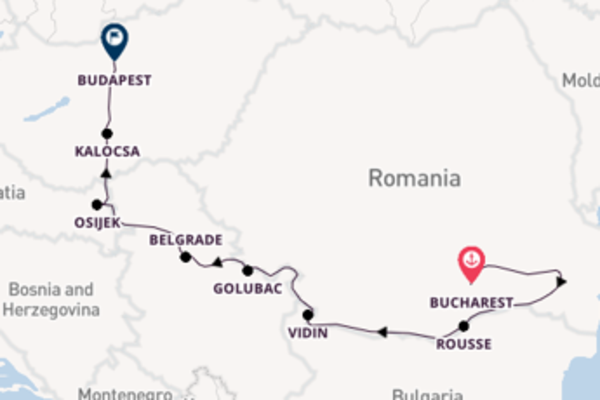 9 day trip on board the Viking Lofn from Bucharest