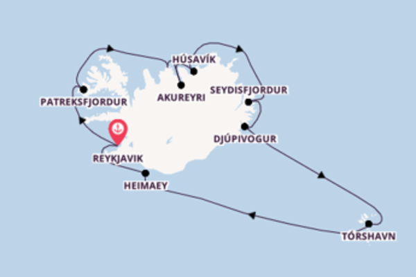 Expedition with Silversea from Reykjavik